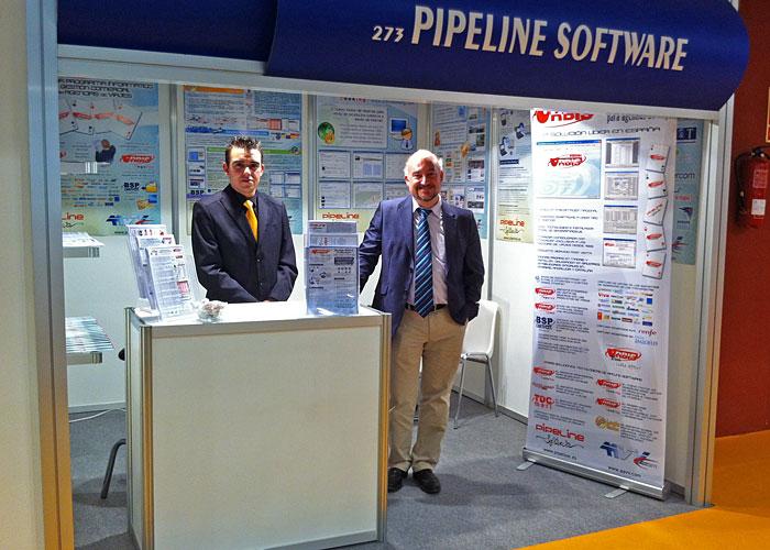 Pipeline software ferias intur 2011 for Hotusa oficinas centrales