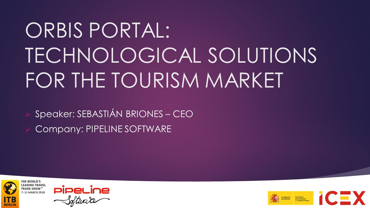 TECHNOLOGICAL SOLUTIONS FOR THE TOURISM MARKET