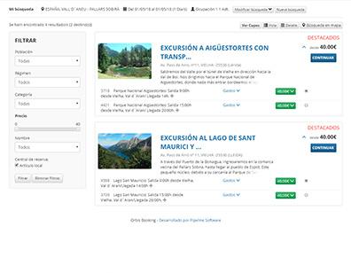Orbis Booking - Actividades y eventos